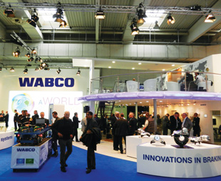Wabco brakes new ground