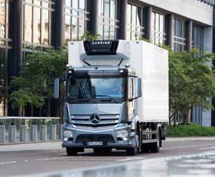 The all new Mercedes-Benz Antos is the first heavy-duty truck specifically designed for the very varied requirements of the short-radius distribution transport industry.