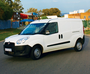 The Doblo Maxi and Fiorino (opposite) bring individual Italian style to the panel van market.