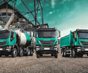 The latest edition of Iveco's Trakker construction range, well-known in South Africa, also made it's debut at the recent Hanover Show.