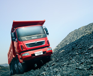 Tata's Prima range has been expanded to include additional truck-tractor and tipper variants. This is the 285kW 3138K tipper intended for opencast mining applications.