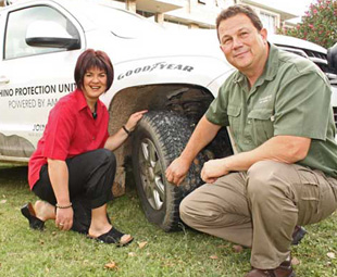 Goodyear shatters records and fends off poachers