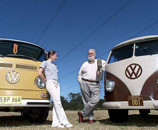 A brief history of the hippie van
