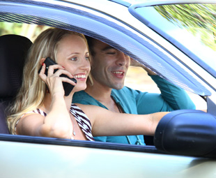 Hands on the wheel, eyes on the … phone