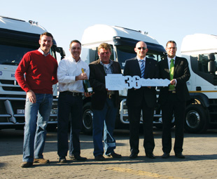 Last year's 36 vehicle handover was the beginning of great things for Independent Iveco dealership Truck Centre, Bogdans Bulk Transport and Iveco Southern Africa.