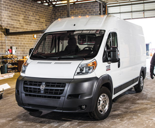 Fiat's Ducato integral van has crossed the Atlantic to re-emerge as the Ram ProMaster.