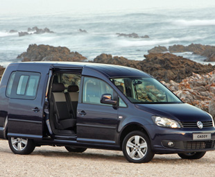 The Volkswagen Caddy is a pleasure to drive and economical to run.