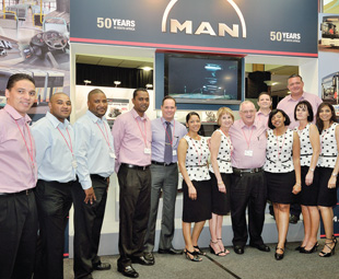 MAN Truck & Bus fully utilised the ample networking  opportunities SABOA's 2013 National Conference and Exhibition had to  offer, with its team gladly sharing all on the company's products and  services with those that attended.