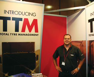 Adriaan Coetzee, admin controller of marketing at Max T Solutions, showed how the company truly offers Total Tyre Management to the bus and coach industry.