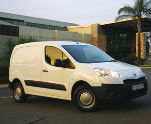 The revised Partner is line with Peugeot's new family look - smart and sophisticated.
