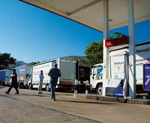 Umfula One-Stop, at Hartbeespoort, served as a base for Truck Test 2013 as Engen sponsored the event's fuel once more.