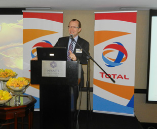 Christian des Closières, MD and CEO of TOTAL South Africa, says the company is committed to growing its business in South Africa and southern Africa.