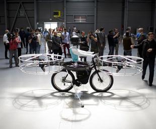 Czech it out – a flying bike!