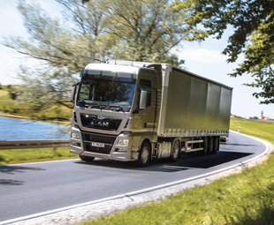 With a striking restyled front, the new Euro-6 trucks in the TG family produce hardly any emissions.