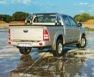As an overall package the Foton Tunland is impressive.
