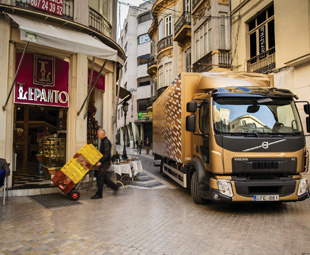 Volvo's new low-line 12 tonne GVM FL model brings a lighter and lower option to the distribution environment.
