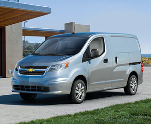 The Chevrolet City Express is GM's version of the Nissan NV200 van for the North American market.