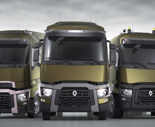 Renault's new European range of trucks are a tough-looking bunch!