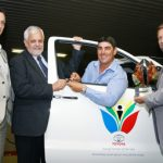 A new bakkie for a young boer