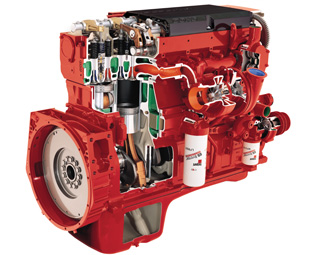With a standard two-year/ 400 000 km warranty and high-quality customer support, Cummins engines deliver performance and reliability.