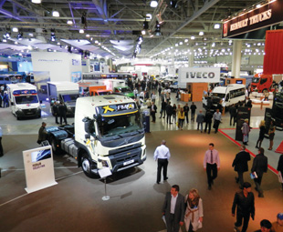 ComTrans is THE trucking event in Russia, and it attracts over 300 exhibitors.