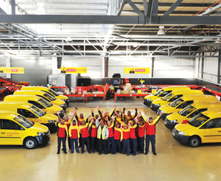 DHL's new gateway facility unifies the company's service and gateway centre through cross-functional training, which builds exceptional teamwork.