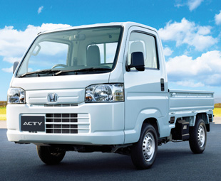 Honda's tiny Acty is typical of the 'Kei trucks' not covered by our Japanese market feature.