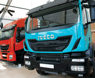 All-new Daily, Stralis Hi-Way and Trakker show the company's seriousness about the southern African market.