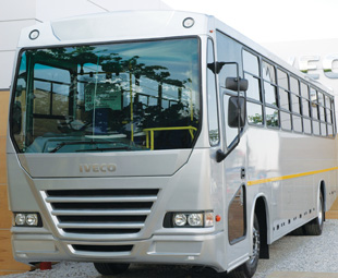 Iveco's 65-seater 180E bus will be one of the company's first vehicles to be assembled in South Africa.