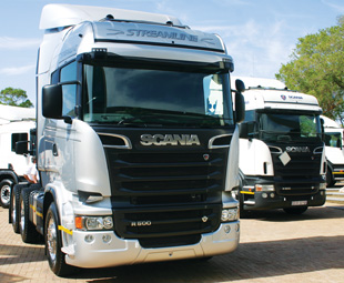 The Scania Streamline series was launched at JIMS.