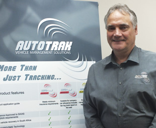 Autotrak MD David Winsper believes in combining the company's home-grown technology with a customer-centric attitude.