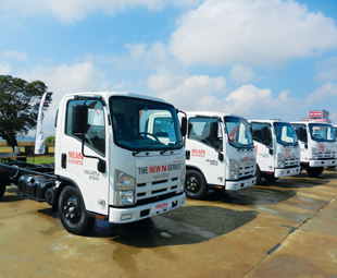 Isuzu has launched AMT for the first time in the 2,5-tonne segment.