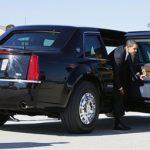 Obama's transport to Madiba's memorial service