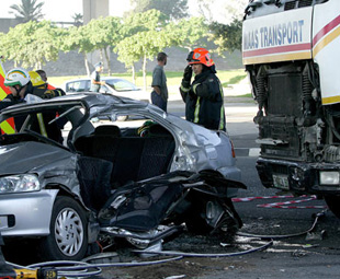 When will the road carnage be curbed?