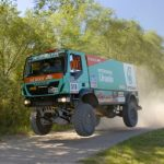 Iveco dunks second place in Dakar