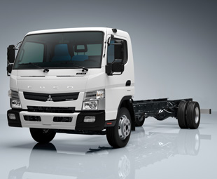 Fuso's latest Canter, expected in South Africa during 2014, has moved up to  8.5 tons GVM in Europe.