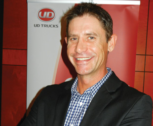 """Despite 2013 being """"interesting"""", UD Trucks MD Jacques Carelse says the market performed exceptionally."""