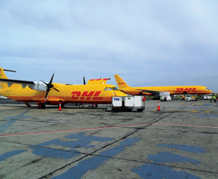 DHL's two ATR 72s, each with a capacity of seven tonnes, will connect countries including Senegal, Guinea, Sierra Leone, Liberia, Cote d'Ivoire, Mali and Mauritania.