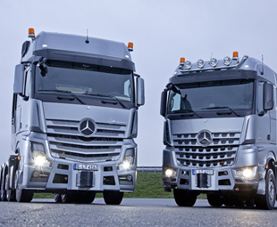 """Customised """"monster"""" trucks"""