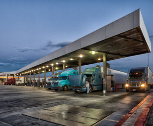 The once humble truck stop is now a burgeoning industry in the US.