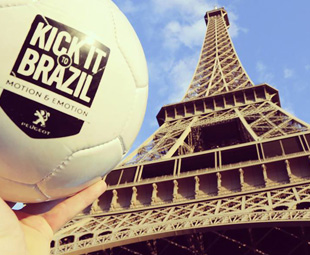"""Peugeot launches """"Kick it to Brazil"""" campaign"""