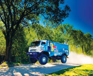 Dakar 2014 was a gruelling race, with Andrey Karginov taking victory for the Kamaz Master Team by a mere three minutes.