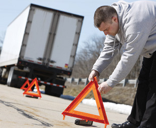 Costly chaos of heavy-vehicle breakdowns