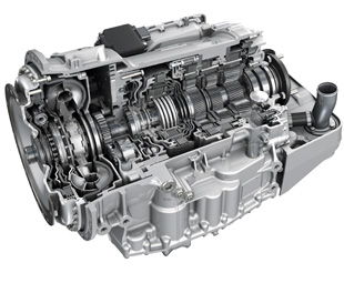 The new six-speed EcoLife gearbox features a torque converter, lock-up clutch and dual cooling system.