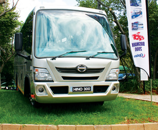 Hino's new people carrier