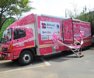 Hino joins fight against breast cancer