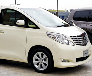 Toyota's Alphard bonneted minibus/van range is an important product in East Asian markets.