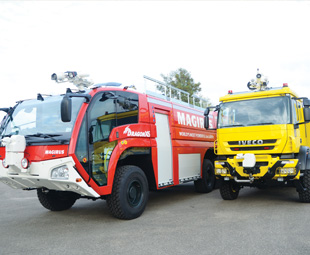 The Magirus Dragon X6 and Super Impact models are two of the company's flagship products.