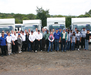 Smiles all round set the tone for Truck Test 2014.