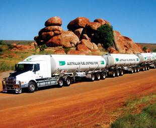 From July 2007, the Australian Federal and State Governments allowed the introduction of B-triple trucks on a specified network of roads. They may access only those roads that are permitted for B-doubles and for 4,6 m high vehicles.
